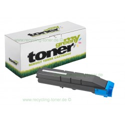 My Green Toner für Kyocera FS-C8650DN cyan * Rebuilt Kartusche