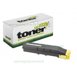 My Green Toner für Kyocera FS-C8650DN yellow * Rebuilt Kartusche