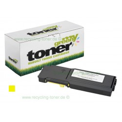 My Green Toner für Dell C3760N yellow *