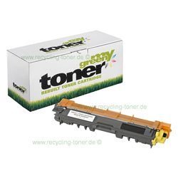 my-green Toner für Brother HL-3142CW yellow * Rebuilt Kartusche