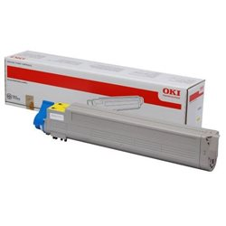 Toner Oki C9655 DN yellow
