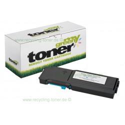My Green Toner für Dell C2660 DN cyan * my-green Rebuilt Kartusche